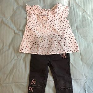 H&M two pieces set 2 to 3 years